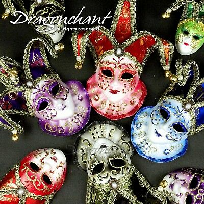 CLEARANCE! Hanging Mask Bell Wall Decoration Venetian Masquerade Ball Carnival