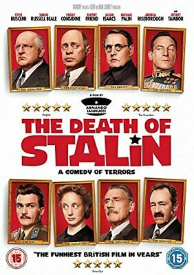 The Death of Stalin [DVD] [2017] - DVD  Z2VG The Cheap Fast Free Post