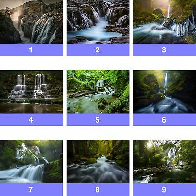 Waterfall Landscape Nature Wall Mural Photo Wallpaper WF-WM