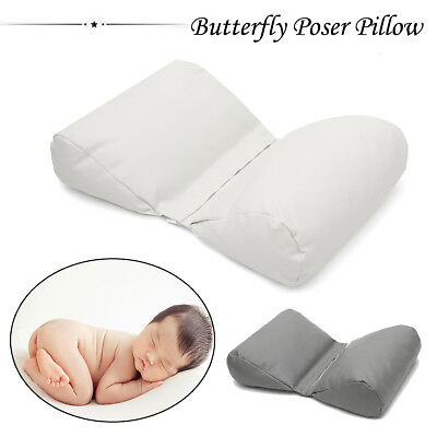 US Newborn Photography Poser Butterfly Pillow Posing Backdrop Photo Model Prop