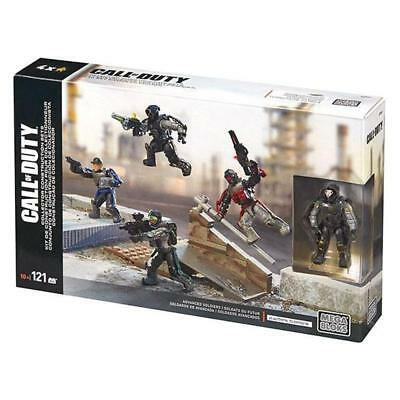 Call Of Duty Mega Bloks Advanced Soldiers Collector Construction Set