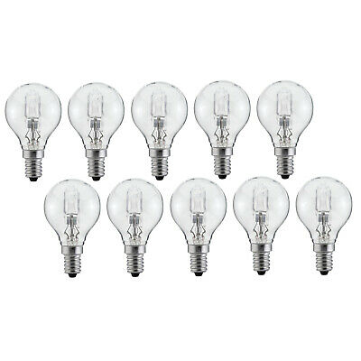 10er Set Luminizer 3085 Classic Eco Halogen G45 E14 28W=34W dimmbar warmweiss