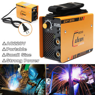 220V ZX7-200 Portable MMA ARC Welder DC IGBT Welding Machine Soldering Inverter