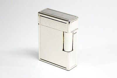 S.T. DUPONT ACCENDINO LIGHTER FEUERZEUG FINITURA PALLADIO LINEA 1 SMALL n.1356