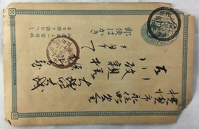 Antique Postmarked Imperial China Postcard