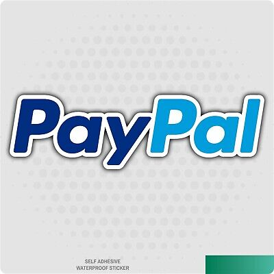 Paypal Sticker -  Car/Van Decal/Sticker/ Business/Payment/Shopping/Online