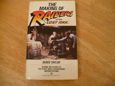 The Making Of Raiders Of The Lost Ark -1981 Pb-1St Edition-Outstanding Condition