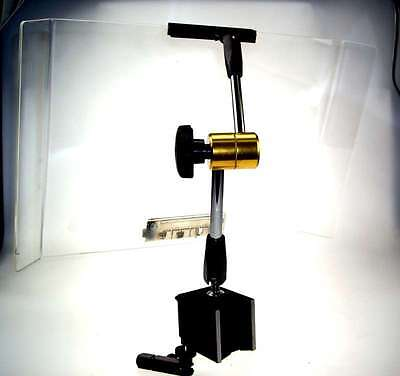 Magnetic Base with Coolant Shield For lathe Milling Machine Engineering Guard