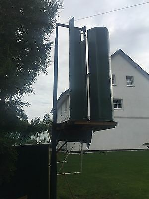 Windgenerator  Savonius,