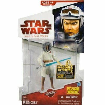 Star Wars Clone Wars Series 13 Obi-Wan Kenobi Figure by Hasbro JC