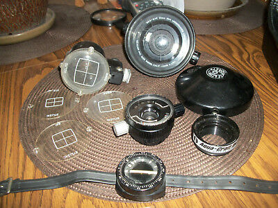 seacor lens set with carrying case and filters fits nikon mount
