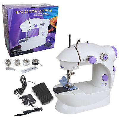 Portable Desktop Sewing Machine Electric Multi-function Mini Handheld Craft Kit