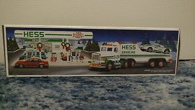 HESS 1991 TOY TRUCK AND RACER New in Box