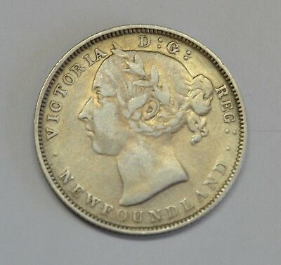 1899 Newfoundland 20C You Be The Judge Of The Grade