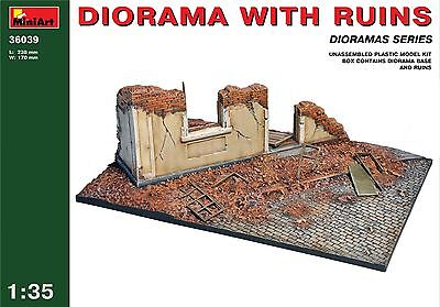 Diorama with ruins << MiniArt #36039, 1:35 scale