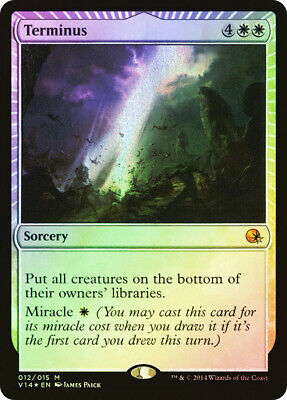 FOIL Terminus ~ From the Vault: Annihilation ~ NearMint ~ Magic The Gathering