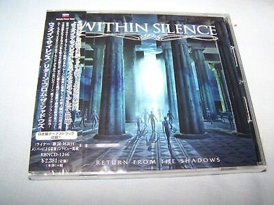 Within Silence - Return From The Shadows CD 2018 Japanese - melodic power metal