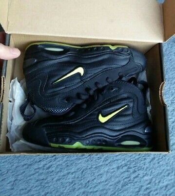 1997 Ds Vintage Nike Air Max Uptempo Plus Neon Yellow Uk10. 5 Us11C Eur28