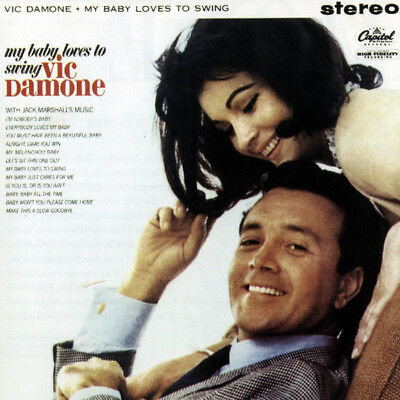 Vic Damone My Baby Loves To Swing NEAR MINT Capitol Records Vinyl LP