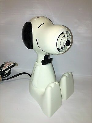 Vintage Peanuts Snoopy Hair Dryer-Works Great