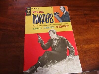 The Invaders TV Series #3 Gold Key Comic Book 1968