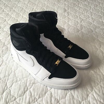 9183afa1a8a4 Air Jordan Retro 1 Hi Equality Black White Size 11 AQ7474-001 Ships Same Day