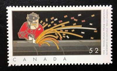 Canada #2267i Die Cut MNH, Industries: Oil and Gas Stamp 2008