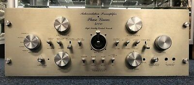 Phase Linear 4000 Quadraphonic Preamp Sold As-Is Complete No Reserve