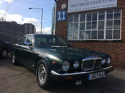1992 Daimler Double Six saloon RHD, 36k Warranted Miles Jaguar Daimler XJ12