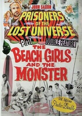 Prisoners Of The Lost Universe/The Beach Girls And The Monster [New DVD] Manuf