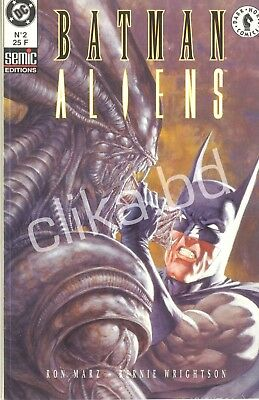 BATMAN ALIENS  2 - NEUF /COMME NEUF-  68 pages  -1997 - BERNIE WRIGHTSON - 1997-