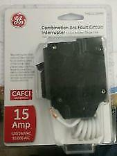 Ge Thql1115Afp2  15A Combination Arc-Fault Circuit Breaker New In Package