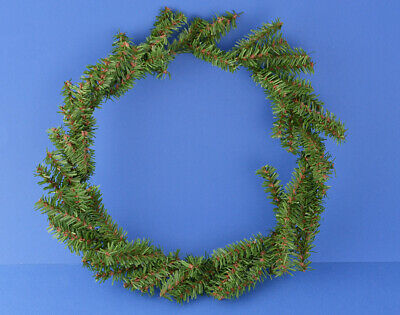 24cm Basic Canadian Artificial Pine Wreath for Christmas Crafts