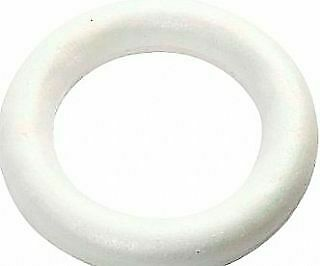 170mm Polystyrene Hoop or Wreath to Decorate   Floristry Craft Supplies