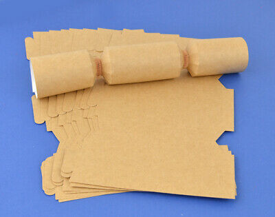 100 MINI Natural Brown Kraft Make & Fill Your Own Cracker Boards
