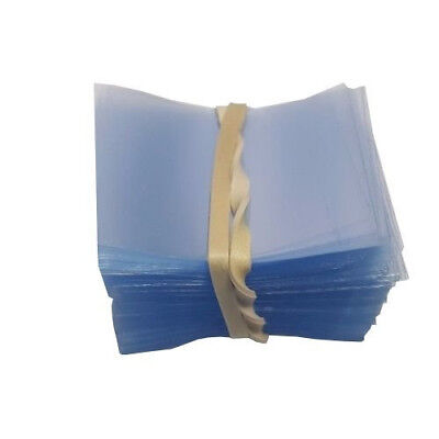 [250] 38x28 Heat Shrink Neck Wrap Band Cut for Boston Round Bottle Tamper Seal