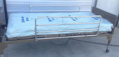 Invacare 5301INV Full-Electric Home Care Hospital Bed + side rails + mattress