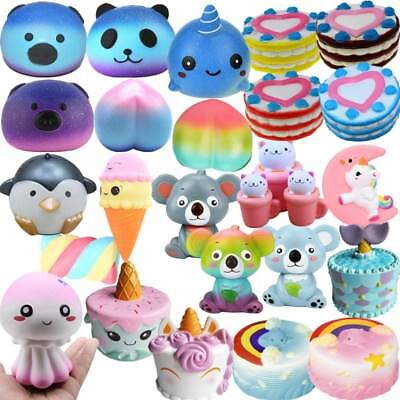 Jumbo Slow Rising Squishies Scented Charms Cute Squishy Squeeze Toy Wholesale AU