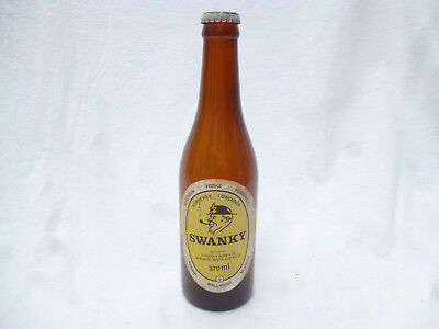OLD COOPERS SWANKY SMALL 370ml BEER STUBBIE WITH original CAP
