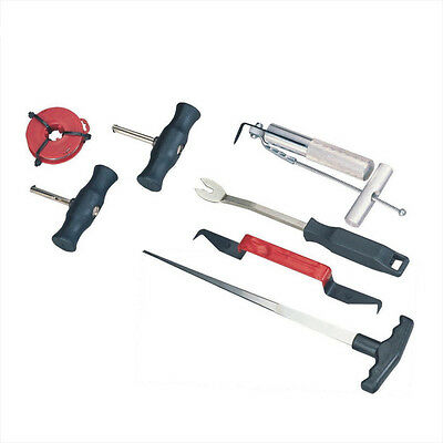7Pc Car Auto Body Windshield Glass Removal Remover Replacement Repair Tool Kit