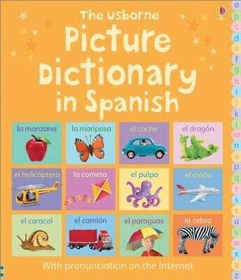 Picture Dictionary in Spanish (Picture Dictionar... by Brooks, Felicity Hardback