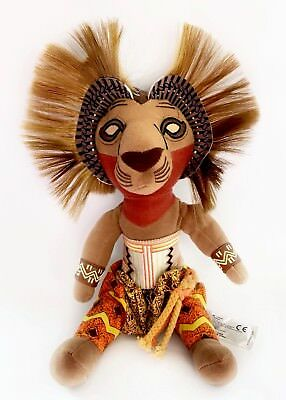 """The Lion King The Broadway Musical Simba Soft Plush Toy 10"""""""