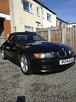 Bmw Z3 Black Convertible Soft Top Roof 163 195 00 Picclick Uk