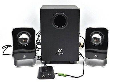 Logitech LS21 Multimedia Speakers Subwoofer for Desktop Laptop Phone Tablet