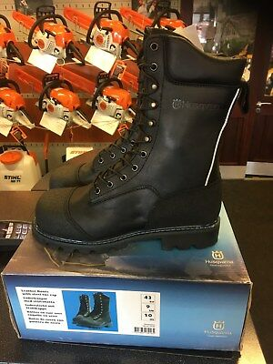 Husqvarna Husqvarna Leather work boots with steel toe cap