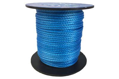 1.5MM X  10M Blue Dyneema® Fiber Synthetic Fishing/Winch/Yacht Marine rope 380kg