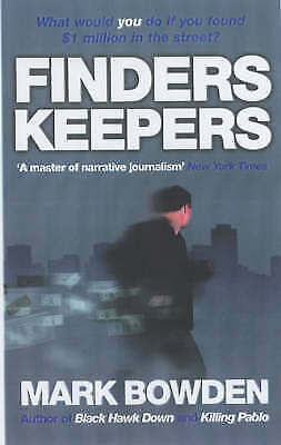 Finders Keepers: The Story of Joey by Mark Bowden (Paperback) New Book