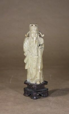 Chinese Soapstone figurine of a scholar