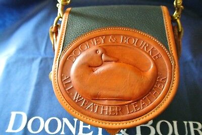 Dooney & Bourke vintage Navy **Big Duck** shoulder purse