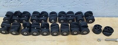 Lot of 20 - VALU GUIDE SF-PCH-14 Conveyor Component Panel Clamp Good USED